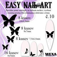 Easy Nail Art č. 10 - čierna