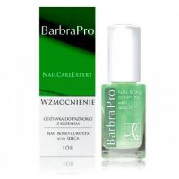 Lak na nechty Barbra Pro - 108 Nail Bond Complex with Silica