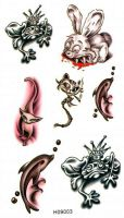 Body Tattoo Stickers - E09003