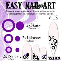Easy Nail Art č. 13 - fialová