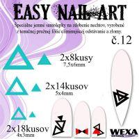 Easy Nail Art č. 12 - bledotyrkysová