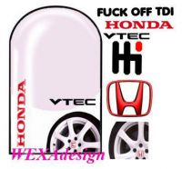 Nail Tattoos - Honda - 118
