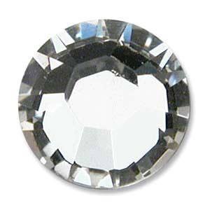 Hot Fix nažehľovacie kamienky SS10 - 1 Crystal
