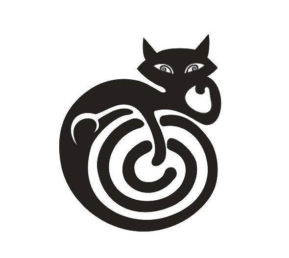 Tattoo šablónka - Hypnocat