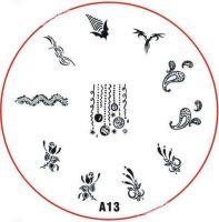 Stamping Nail Art platnička - A13