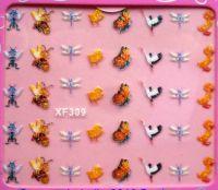 Nálepky trblietavé - XF309 - hmyz