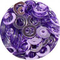 Konfety flitre obrúčky - 29. Metal Violet