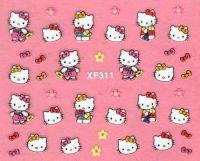 Nálepky Hello Kitty - XF311