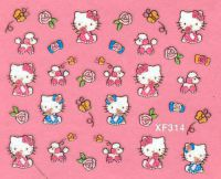 Nálepky Hello Kitty - XF314