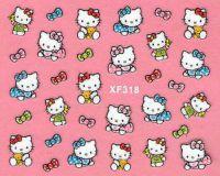 Nálepky Hello Kitty - XF318