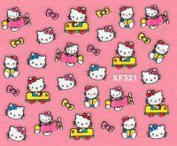 Nálepky Hello Kitty - XF321