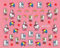 Nálepky Hello Kitty - XF330