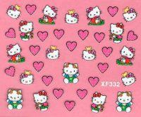 Nálepky Hello Kitty - XF332