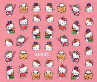 Nálepky Hello Kitty - XF333