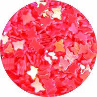 Konfety motýliky - 14.krikľavo ružové