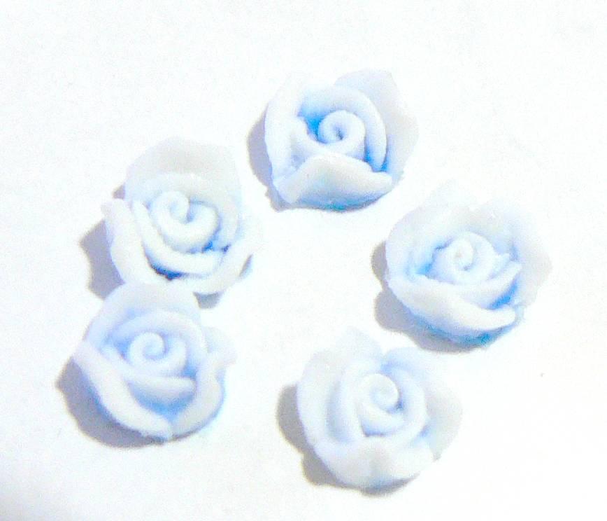 Silikónové 3D kvietky na zdobenie nechtov
