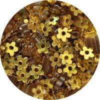 Konfety kvetinky s dierkou 19