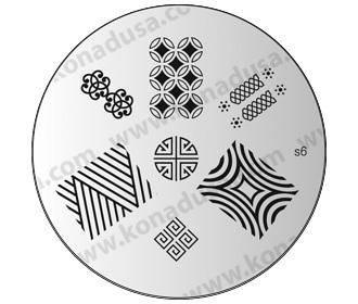 Konad platnička na Stamping Nail art - pečiatky na nechty