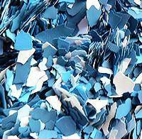 Vločky maskáče - modrá