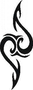 Samolepiaca šablóna na tetovanie 58-151