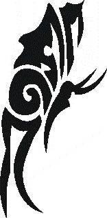 Samolepiaca šablóna na tetovanie 44-185
