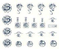 Vodolepky strieborné - C100