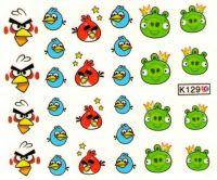 Vodolepky - K129 Angry birds
