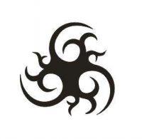 Tattoo šablónka 02-177