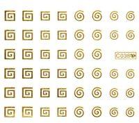Vodolepky zlaté - C038 gold