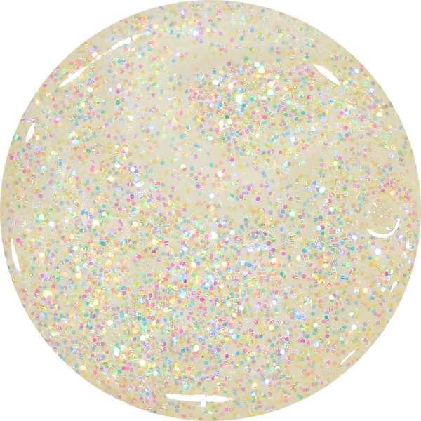 Farebný Glamour Glitz UV gél - Hurricane
