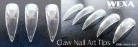 Claw Nail Art Tips Clear