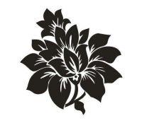 Tattoo šablónka č. 94 - Rosa siluet
