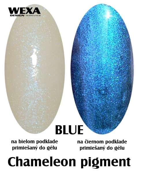 Chameleon pigment Blue