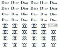 Vodolepky - C035 silver Dior