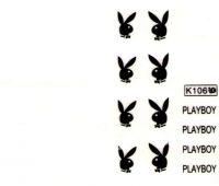 Vodolepky - K106 Playboy