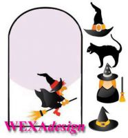 Nail Tattoos - Witch Sign - 144