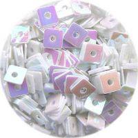 Konfety štvorčeky - 1. biele