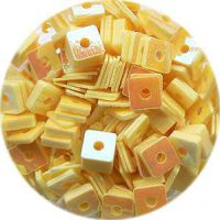 Konfety štvorčeky - 2. žlté