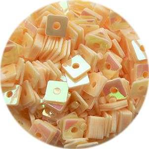 Konfety štvorčeky - 3. broskyňové