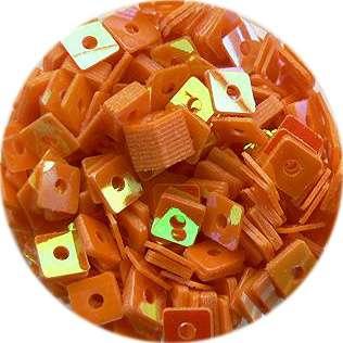 Konfety štvorčeky - 4. oranžové