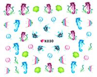Nálepky na nechty - K030