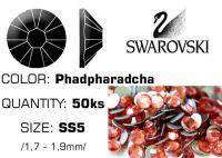 Swarovski F - Padpharadscha SS5