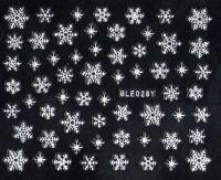Vločky - strieborné BLE028Y