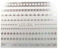 Vodolepky strieborné - LGS-006