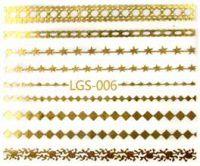 Vodolepky zlaté - LGS-006 Gold