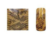 Fake Snake Skin - Gold