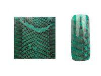 Fake Snake Skin - Green