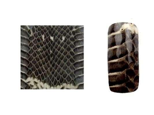 Fake Snake Skin - Natur