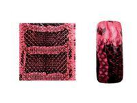 Fake Snake Skin - Pink