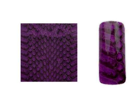 Fake Snake Skin - falošná hadia koža - Violet